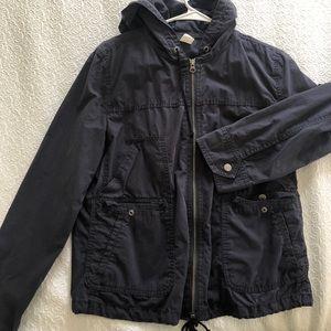JCrew Hooded Utility Jacket